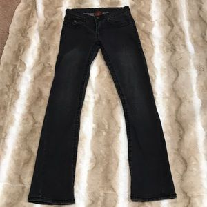 True Religion Joey Super T Black Jeans